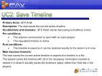 uc2 save timeline
