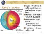 earth s interior