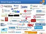 direct export partners