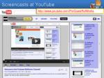 screencasts at youtube