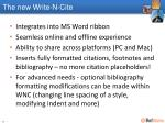 the new write n cite1