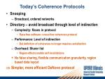 today s coherence protocols1
