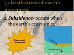3 classification of earth s movement2
