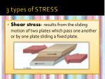 3 types of stress3