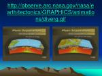 http observe arc nasa gov nasa earth tectonics graphics animations diverg gif