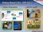 dialog based call db call