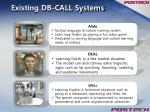 existing db call systems