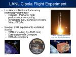 lanl cibola flight experiment