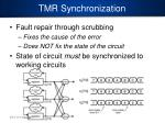 tmr synchronization