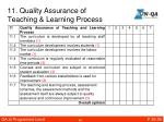 11 quality assurance of teaching learning process1