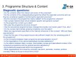 3 programme structure content2