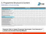 3 programme structure content3