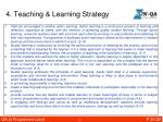 4 teaching learning strategy