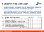 9 student advice and support