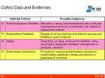 collect data and evidences2