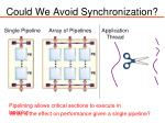 could we avoid synchronization