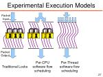 experimental execution models1
