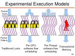 experimental execution models2