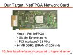 our target netfpga network card