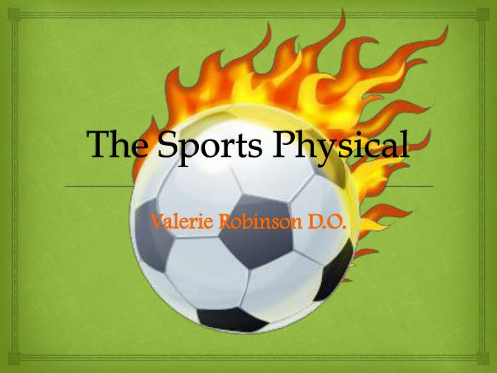 the sports physical n.