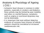 anatomy physiology of ageing cvs4