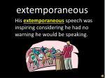 extemporaneous1