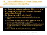 iii les actes bilat raux le contrat comme norme particuli re norme infra l gislative