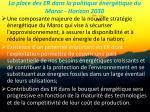 la place des er dans la politique nerg tique du maroc horizon 2030
