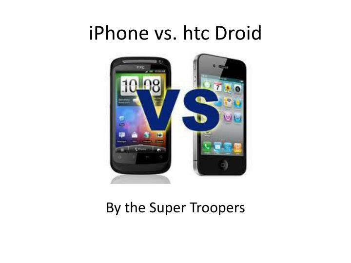 iphone vs htc droid n.