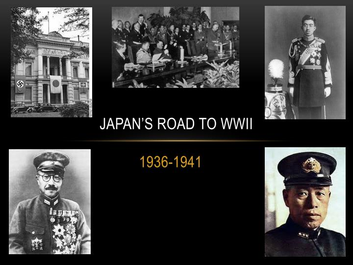 japan s road to wwii n.