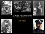 japan s road to wwii