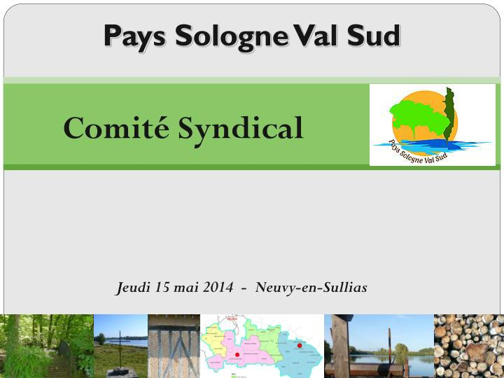 pays sologne val sud n.