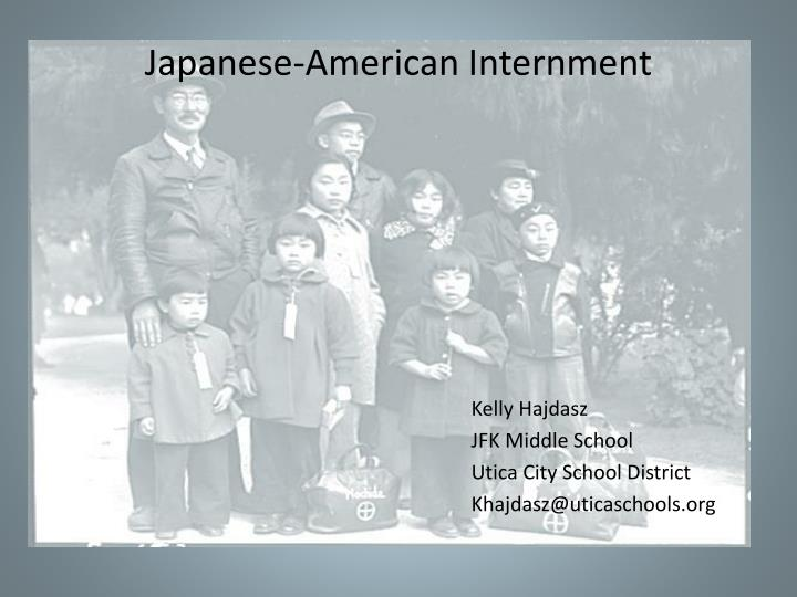 japanese american internment n.