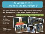 the dances movie time to hit the dance floor
