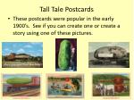 tall tale postcards