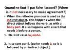 quand ne faut il pas faire l accord when is it not necessary to make agreement