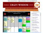 crazy wisdom with widget