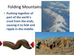 folding mountains