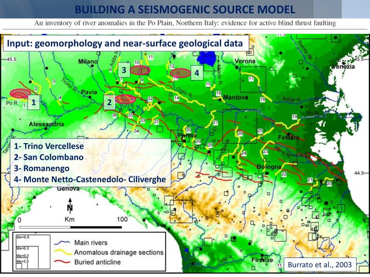 BUILDING A SEISMOGENIC SOURCE MODEL