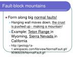 fault block mountains2