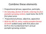 combine these elements