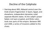 decline of the caliphate