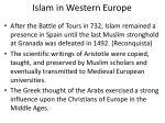 islam in western europe