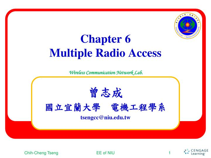 chapter 6 multiple radio access n.
