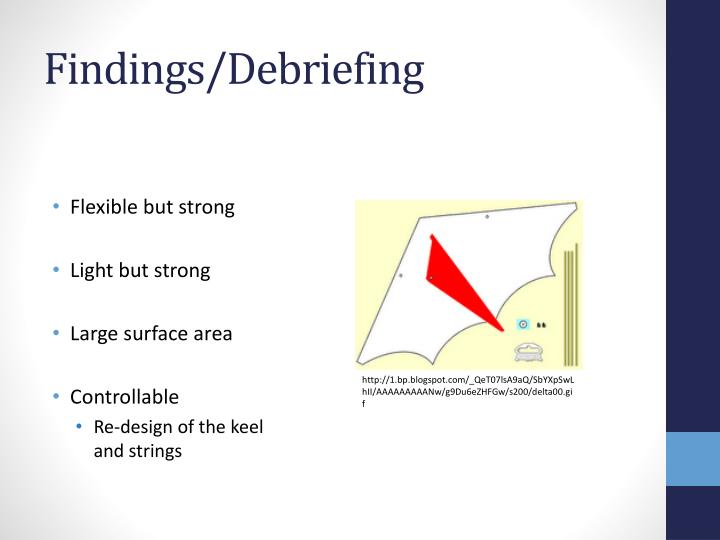 Findings/Debriefing