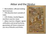 akbar and the hindus