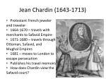 jean chardin 1643 1713