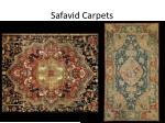 safavid carpets