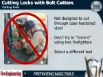 cutting locks with bolt cutters1