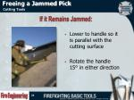 freeing a jammed pick1
